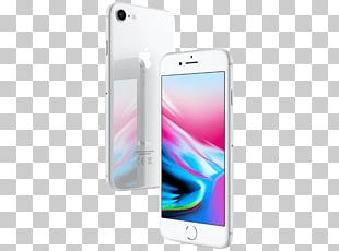 Apple IPhone 8 Plus 64 Gb Smartphone Silver PNG