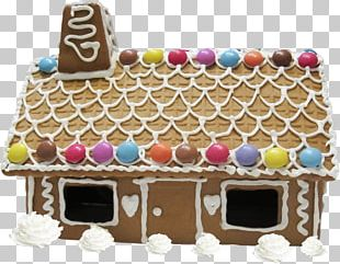 Gingerbread House Chocolate Cake Christmas Cake Torte Hut PNG