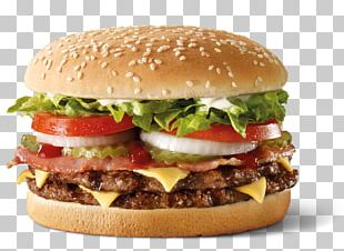 Whopper Hamburger McDonald's Quarter Pounder Hungry Jack's Burger King PNG