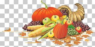 Cornucopia Thanksgiving Zeus PNG