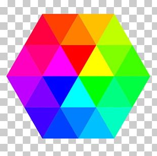 Hexagon Color Triangle Pentagon PNG