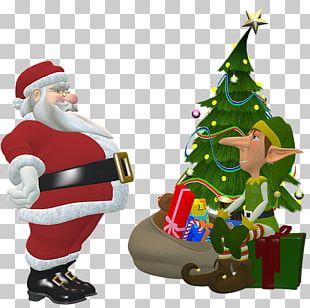 Santa Claus Mrs. Claus The Elf On The Shelf Christmas Elf Santa's Workshop PNG