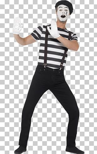 T-shirt Costume Party Mime Artist Clothing PNG