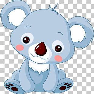 Baby Koala Bear PNG