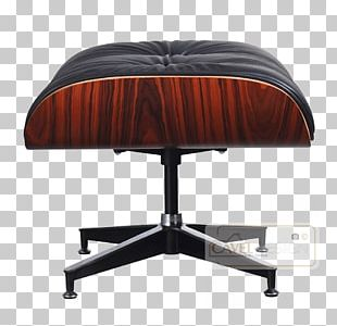 Eames Lounge Chair Lounge Chair And Ottoman Charles And Ray Eames Foot Rests PNG