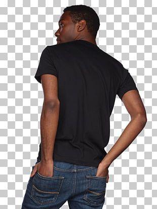 T-shirt Sleeve Crew Neck Shoulder PNG