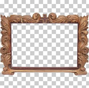 Frames Wood Carving Furniture Antique PNG