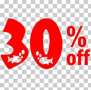 New Year Sale 30% Off Discount Tag. PNG