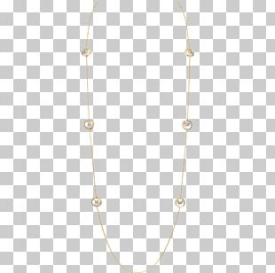 Necklace Jewellery Cartier Gold Silver PNG