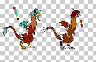 Rooster Velociraptor Cartoon Tail PNG