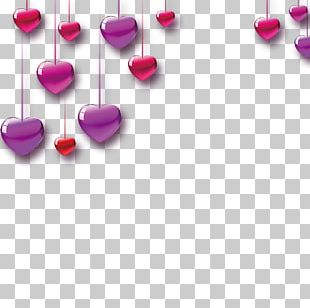 Valentine's Day Heart Love Sticker PNG
