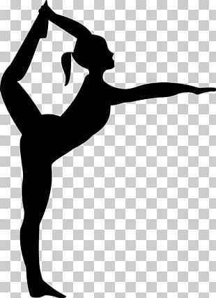 Gymnastics Silhouette Dance PNG