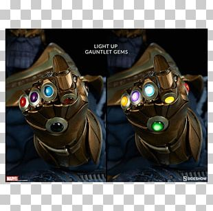 Thanos The Infinity Gauntlet Sideshow Collectibles Marvel Comics PNG