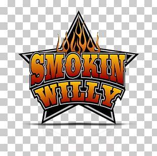 Smokin Willy BBQ Restaurant Logo Menu PNG
