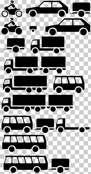 Car Vehicle Truck Silhouette PNG