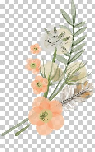 Retro Small Fresh Flowers PNG