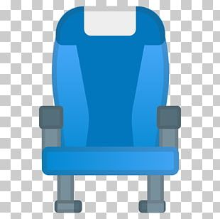 Airplane Chair Seat Computer Icons Emoji PNG