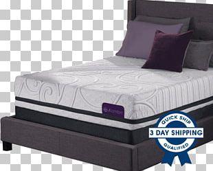 Bed Frame Mattress Box-spring Serta PNG