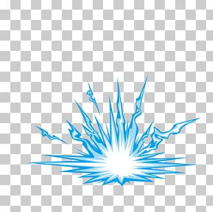 Explosion Blue PNG