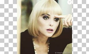 Sandrine Quétier Blond Brown Hair Capelli Long Hair PNG