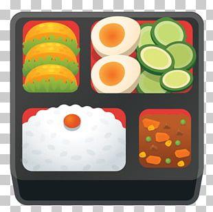 Bento Take-out Asian Cuisine Emoji PNG