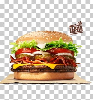 Whopper Hamburger Cheeseburger Fast Food Big King PNG