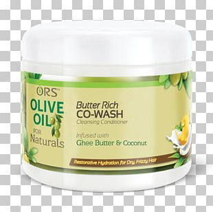 Buttercream ORS Olive Oil For Naturals Hydrating Hair Butter Smoothie PNG