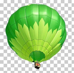 Hot Air Balloon Prospect Flight Green PNG