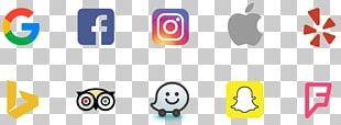 Social Media Logo Digital Marketing Sharing Business PNG