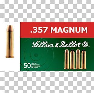 Sellier & Bellot .357 Magnum Soft-point Bullet Firearm Grain PNG