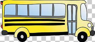 School Bus Drawing PNG