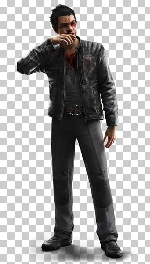 Watch Dogs 2 Leather Jacket Coat PNG