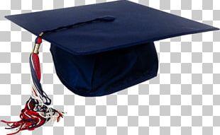 Blue Graduation Cap PNG