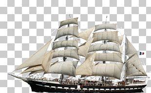 Barque Brigantine Ship Watercraft PNG