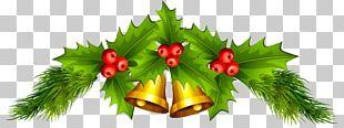 Christmas Decoration Santa Claus Jingle Bell PNG