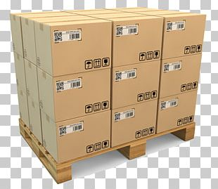 Pallet Jack Cardboard Box Packaging And Labeling PNG
