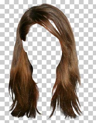 Wig Hairstyle Brown Hair PNG