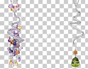 Earring Necklace Jewellery Chain PNG