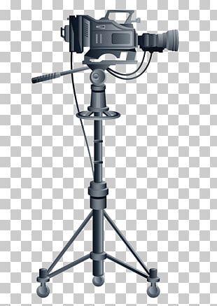 Tripod Video Camera PNG