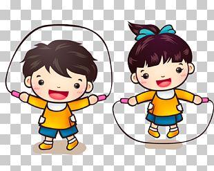 Cartoon Child Animation PNG