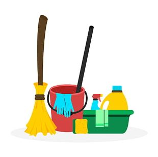 Spring Cleaning Cleaner Maid Service Domestic Worker PNG
