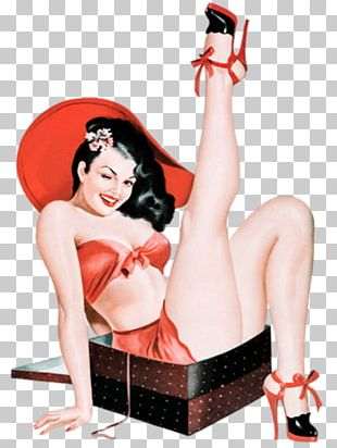 Bettie Page Pin-up Girl Retro Style Vintage Clothing PNG