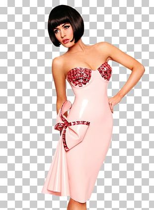 Dita Von Teese Fashion Alternative Model Dress PNG