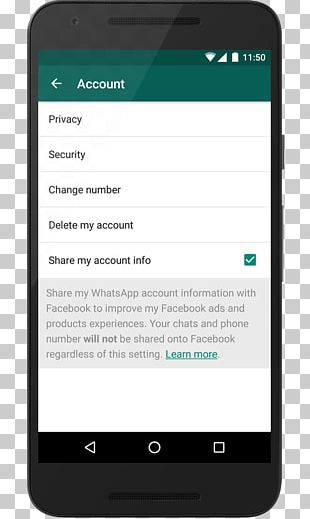 WhatsApp Terms Of Service IPhone PNG