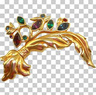 Brooch Jewellery Clothing Accessories Gemstone Gold PNG