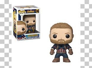 Captain America Groot Iron Man Funko Marvel Cinematic Universe PNG