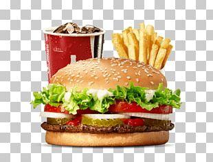 Whopper Hamburger Chicken Sandwich Veggie Burger Burger King PNG