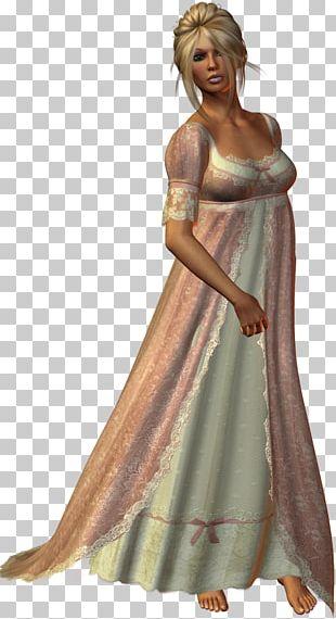 Dress Costume Design Gown Shoulder PNG