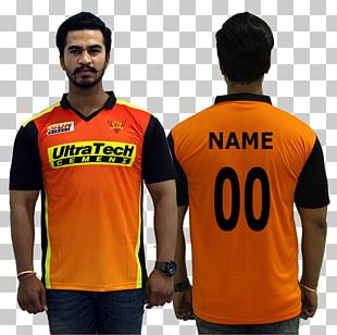 Jersey T-shirt Sunrisers Hyderabad India National Cricket Team Chennai Super Kings PNG