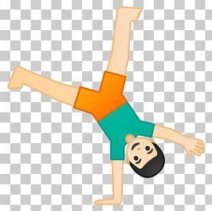 Cartwheel Emojipedia Gymnastics Handstand PNG